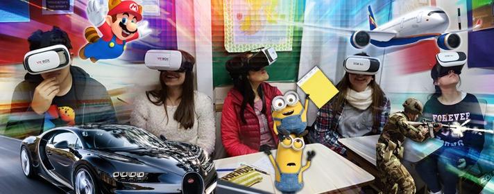 ¡Somos el primer instituto en incorporar Realidad Virtual a la enseñanza! Enterate más acá